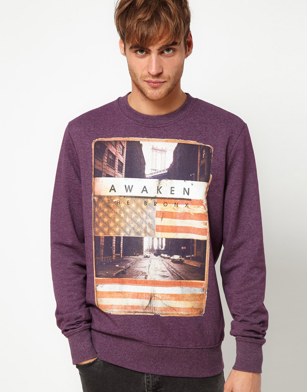 S-02 new cotton custom design sweatshirt for man