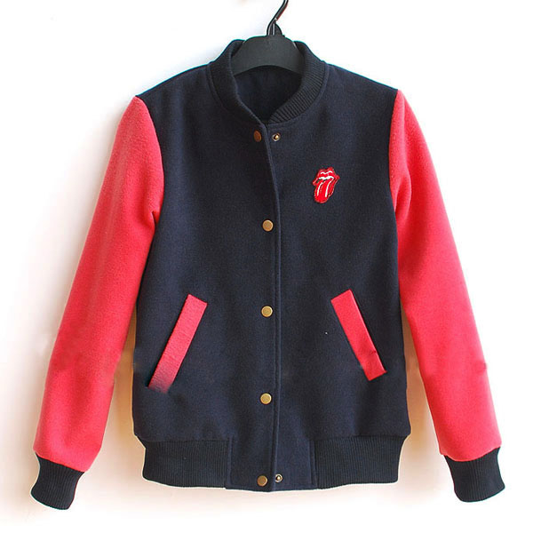 B-04 new cotton custom design baseball varsity jacket for man
